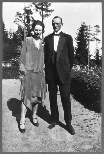 Margit og Bjarne Walle